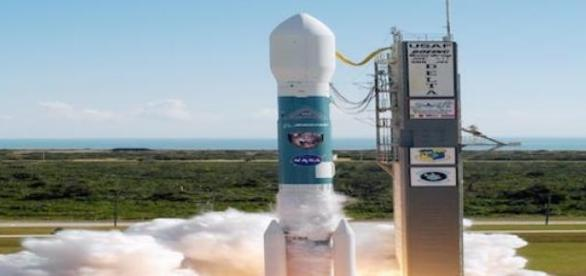 Cohete Delta 2, encargado de transportar al SMAP