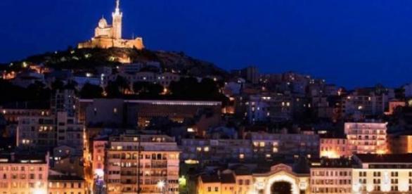 Marseille, le Vieux-Port, la Bonne Mère
