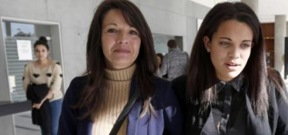Sophie Serrano et sa fille Manon.