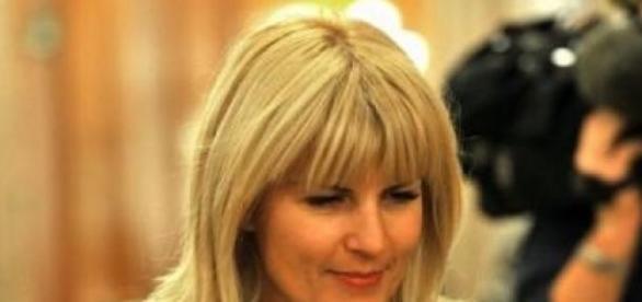 Elena Udrea pusa sub acuatie