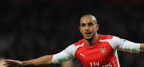 Theo Walcott scored Arsenal's second goal
