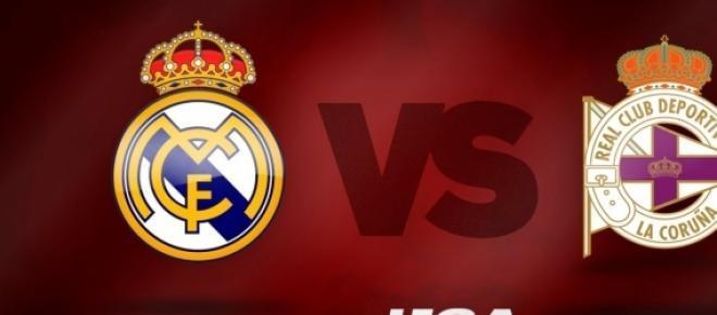 Jornada 23 Real Madrid 2-0 Deportivo de la Coruña.