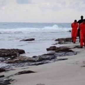 la décapitation de 21 Egyptiens par l'EI
