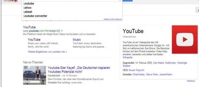 """YouTube ist ein Unternehmen des Suchmaschinen-Königs Google. 10 Jahre ist das Videoportal nun schon auf dem Markt. Das erfolgreichste Video """"Gangnam Style"""" von Psy wurde schon mehr als 2,2 Milliarden Mal geklickt."""
