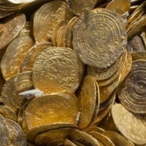 Las monedas tienen un milenio de antiguedad