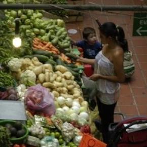 Les marchés sont toujours bien garnis au Mexique.