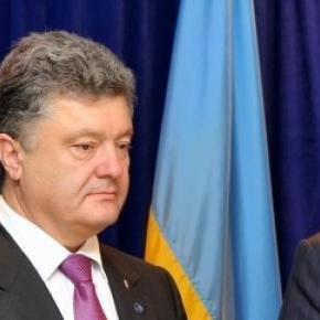 Ukrainian President, Petro Poroshenko (Left)