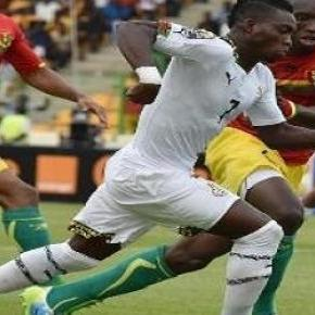 Atsu helped Black Starts to win scoring 2 goals.