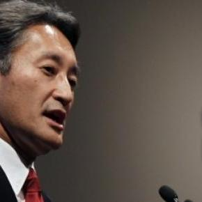 Kazuo Hirai, presidente y CEO de Sony corporation