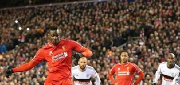 Balotelli scored the winner from the penalty spot
