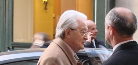 Roland Dumas, au coeur d'une polémique.
