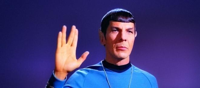 Leonard Nimoy, conhecido como o lendário Spock de Star Trek, referência no mundo nerd e da ficção científica.