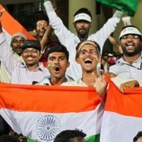 Delight for the Indian fans against the UAE