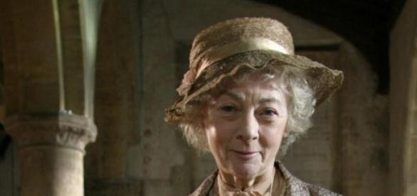 Geraldine McEwan in the role of 'Miss Marple'.