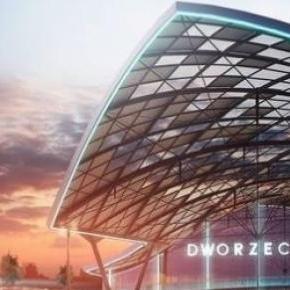 Nowy dworzec Łódź Fabryczna