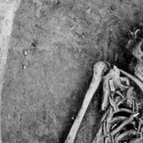 Son restos de una mujer del periodo paleolítico