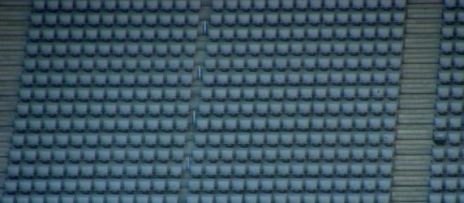 Der Gäste-Sektor blieb leer.           <p>Quelle: Hartmut910/ pixelio.de<br /></p>