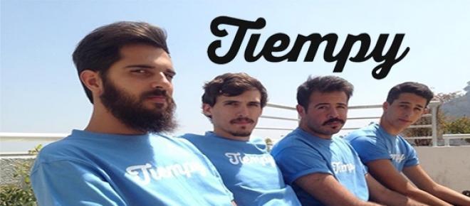 Equipo de trabajo de Tiempy, el nuevo software para la programación de post creada por la startup argentina. Sus creadores Matías y Luciano.