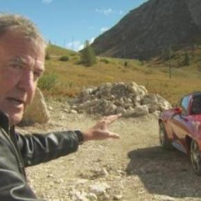 Jeremy Clarkson in a Top Gear episode