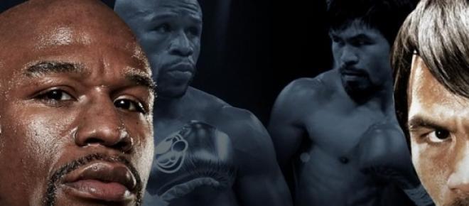 Se consolidó la pelea Mayweather vs Pacquiao