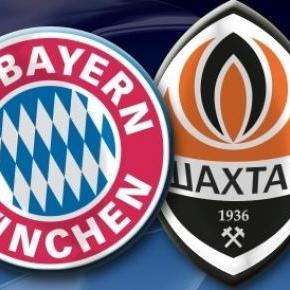 Bayern München schlägt Shakhtar Donetsk mit 7:0.