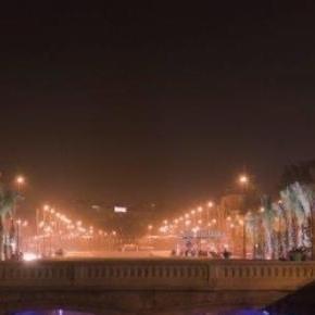 City of Aleppo alight, in normal circumstances