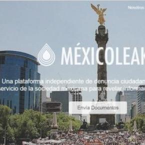 Nace la plataforma independiente Méxicoleaks