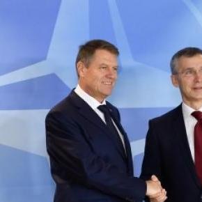 Klaus Iohannis si Jens Stoltenberg