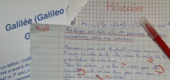 Le français au Lycée - ©B.Carbonari
