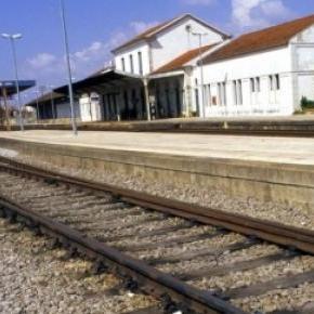 Acidente ocorreu junto à estação de Leiria