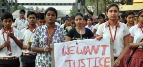 Les indiennes demandent le respect et la sécurité.