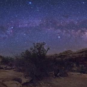 Az elképesztő Utah Nemzeti Park éjszaka