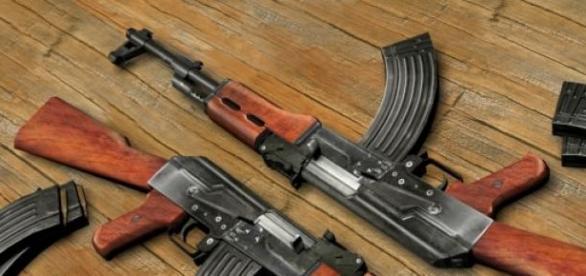 Le AK-47 est une mitraillette très dangereuse.
