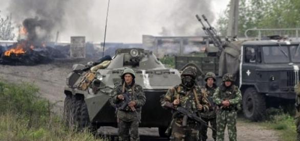 Separatistii prorusi au incalcat armistitiul