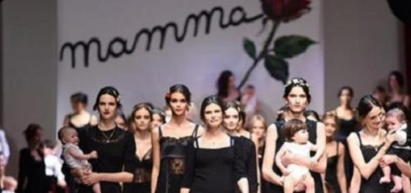 The FW 2016 collection during Milan Fashion Week