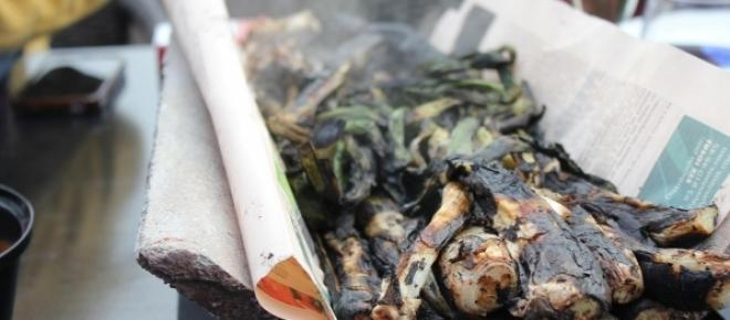 Calsots - grillowane, katalońskie cebule