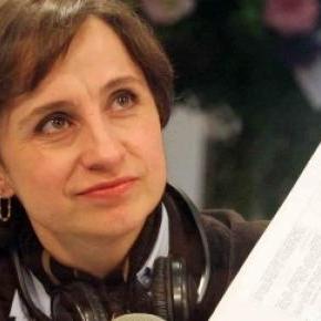 Carmen Aristegui se bat pour la liberté de presse.