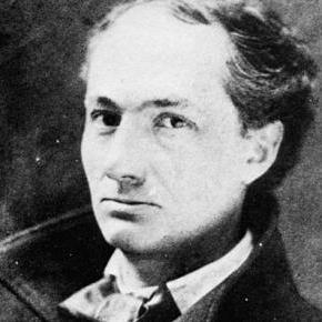 Photo de Charles Baudelaire poète du XIXème siècle