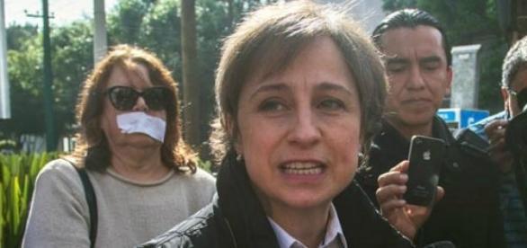 Se atropelló a la libertad de expresión: Aristegui