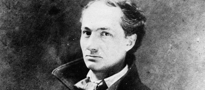 Photo de Charles Baudelaire, poète du XIXème siècle