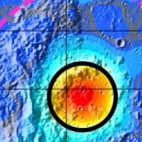Es uno de los cráteres lunares más grandes