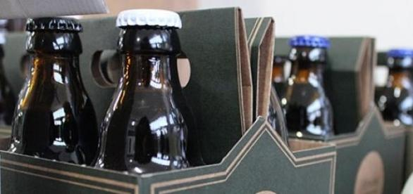 A cerveja artesanal engarrafada Sovina