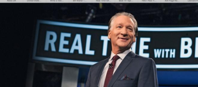 "Bill Maher is a very controversial comedian who has been around for more than ten years with his ""Real Time"" show."