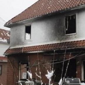 Incendie dans une maison à New York