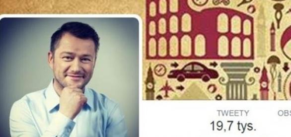 Jarosław Kuźniar, screen Twitter