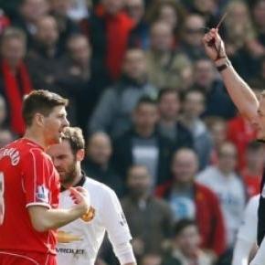Gerrard pozostał na boisku aż... 40 sekund!