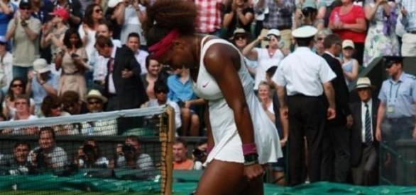 Serena bowed out of Indian Wells with an injury