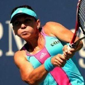 Halep claimed the women's title at Indian Wells