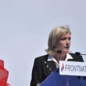 Marine Le Pen le 1er mai 2012
