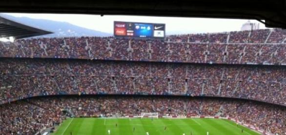 Das Camp Nou, das Stadion von Barcelona.